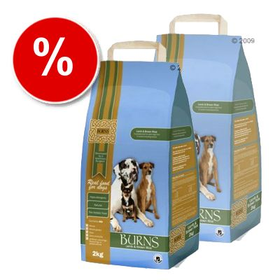 Burns Lamb & Brown Rice Adult - Economy Pack: 2 x 15 kg