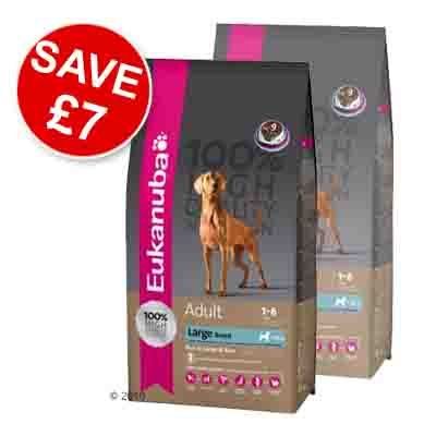 Eukanuba Adult Large Breeds Lamb & Rice - Economy pack 2 x 15 kg
