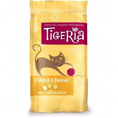 Tigeria Cat Treats Finest Cheese - 50g