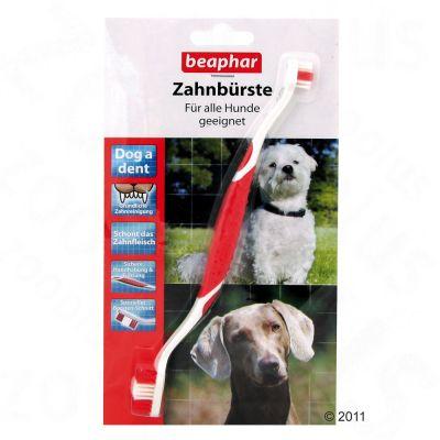 Beaphar Dog-A-Dent Dog Toothbrush - 3 toothbrushes