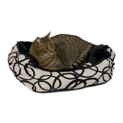 Panier pour chat et petit chien Circles- L 75 x l 70 x H 18 cm