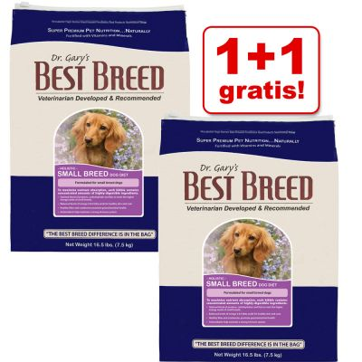 Dr. Gary´s Best Breed Hundefutter 1,8 kg + 1,8 kg gratis! - Large Breed