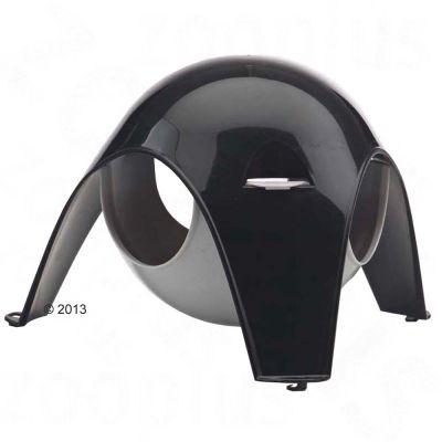 Maisonnette a suspendre Spoutnik, noir/gris - L 29 x l 26 x H 19 cm (taille XL)