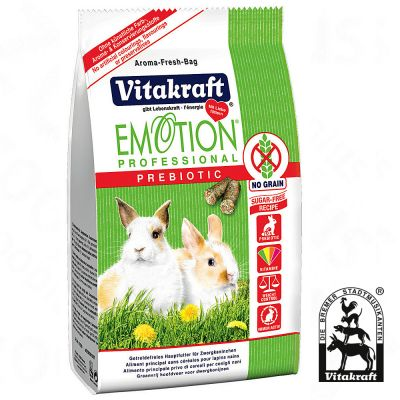 Emotion Professional Prebiotic pour lapin nain - 2 x 4 kg