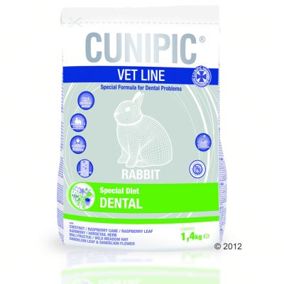 Cunipic Vet Line Dental - Economy Pack: 3 x 1,4 kg