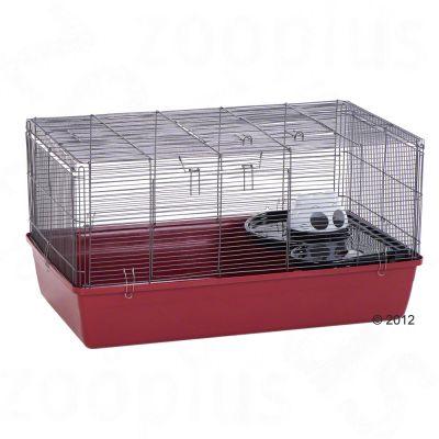 Cage Alaska pour hamster et gerbille - L 85 x l 48,5 x H 44 cm