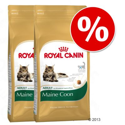 Royal Canin Breed Dry Cat Food Economy Packs - Kitten Maine Coon 2 x 10kg