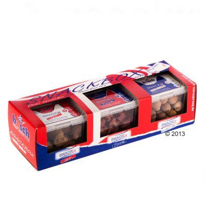 Bosch, trio de boîtes à friandises pour chien - 3 x 400 g.