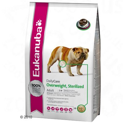 Eukanuba Daily Care Overweight & Sterilized - 12.5 kg