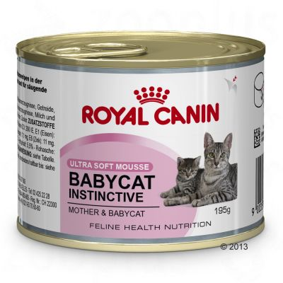 Royal Canin Babycat Instinctive Mousse - 6 x 195g