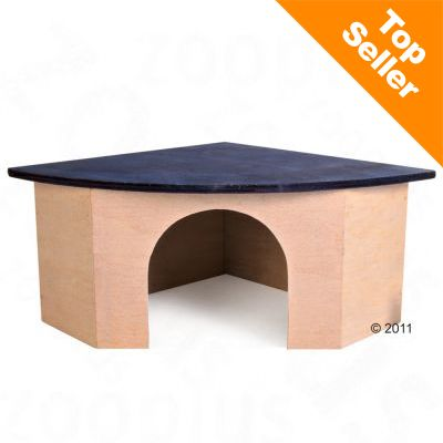 Trixie Corner House - For Guinea Pigs, 21/21 x 29 x 13 cm