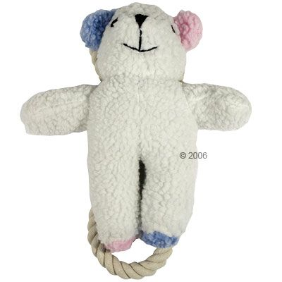 Stuffed Bear with Ropes - Size: 24cm