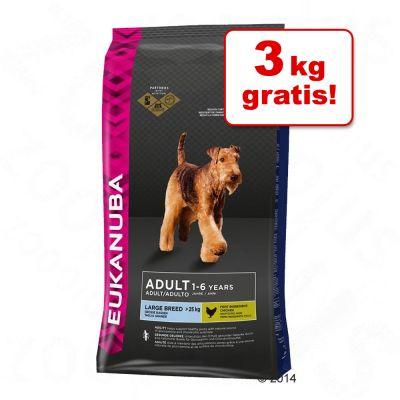 15 kg + 3 kg gratis! Bonusbag Eukanuba - - Puppy Medium
