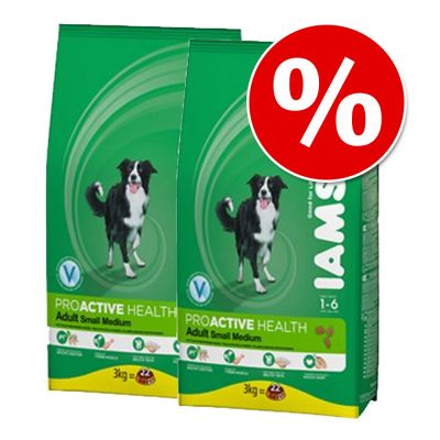 Iams Proactive Health Dry Dog Food Economy Packs - Adult Dog Light in Fat Chicken: 2 x 12kg