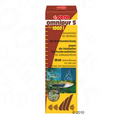 Sera Omnipur S Medication for Ornamental Fish - 50ml