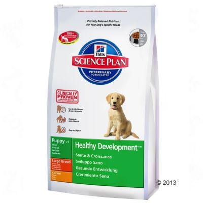 Hill's Science Plan Puppy Healthy Development Large Chicken - Economy Pack: 2 x 11kg