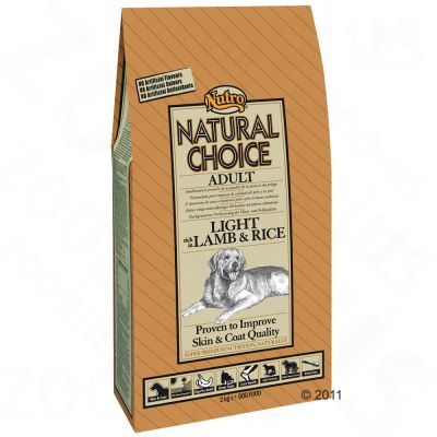 Nutro Natural Choice Adult Light Lamb & Rice - 10kg