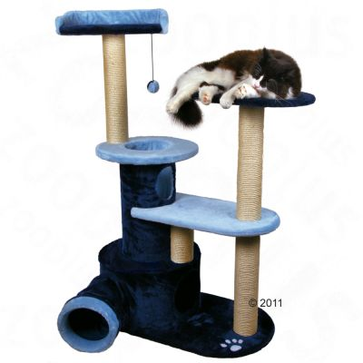 Trixie Cat Tree Manresa - dark blue/light blue