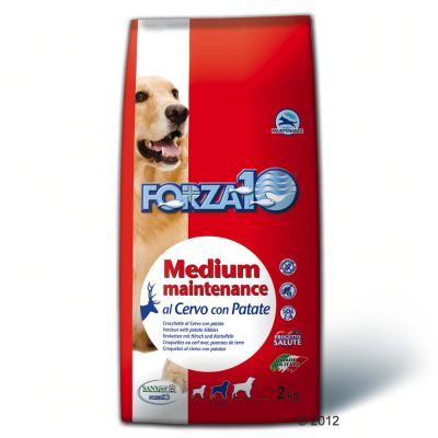 Forza 10 Medium Maintenance with Venison & Potato - Economy Pack: 2 x 15 kg
