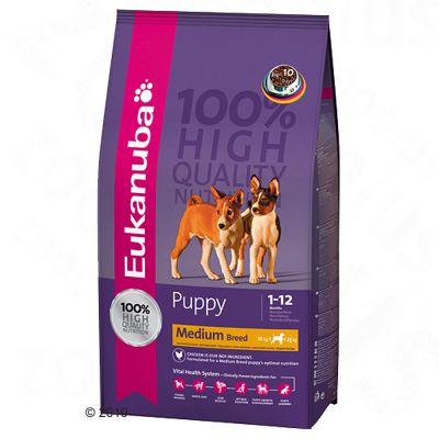 Eukanuba Puppy & Junior Medium Breed - 3 kg