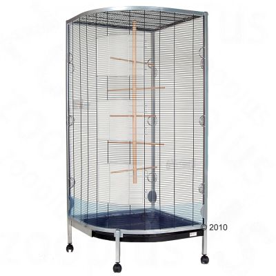 "Essegi Aviary ""Corner Super Birds� - 77 x 77 x 177 cm (L x W x H)"