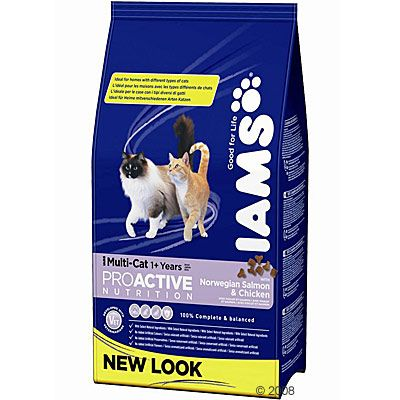 Iams Adult Multi-Cat - Sparpaket 2 x 15 kg
