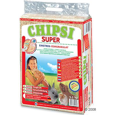 Litiere Chipsi Super pour rongeur - 60 L (3,5 kg)
