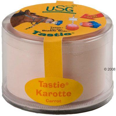 Pierres à lécher pour chevaux Tastie- lot 4 x 1 Tastie Carotte