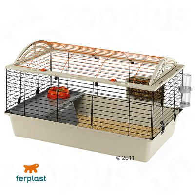 Ferplast Small Pet Cage Casita 100 - Base Beige