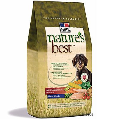 Hill's Nature's Best Canine Mature Adult 7+  Mini / Medium - 2 kg