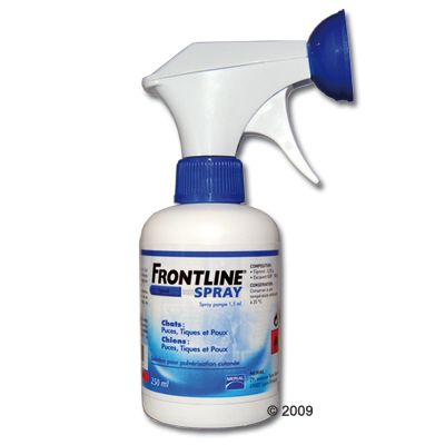 Antiparasitaire pour chien et chat Frontline spray- 100 ml