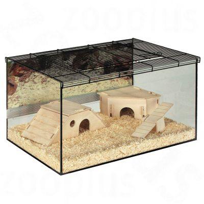 Cage Skyline Kerry pour rongeur - L 75 x l 45 x H 37 cm