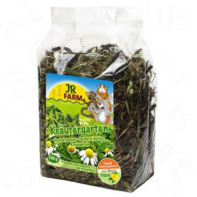 JR Farm Herbes seches pour rongeur - 300 g, fleurs de prairie