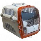 Hagen Pet Cargo Cabrio Carrier - white/grey/orange 51 x 33 x 35 cm (L x W x H)