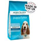 Arden Grange Dog Puppy/Junior Chicken & Rice - Economy Pack: 2 x 12 kg - Dog Foods