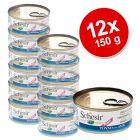 Schesir Puppy Value Pack 12 x 150 g - Tuna with Aloe
