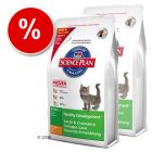 Science Plan Kitten Healthy Development with Chicken - Economy Pack: 2 x 10 kg