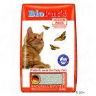 Biokats Medium White Cat Litter - 10 kg