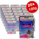 Feline Porta 21 Pouches Savings Pack 20 x 100 g - Kitten Chicken with Rice