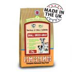 James Wellbeloved Adult Small Breed Turkey & Rice - 1.5 kg