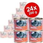 Smilla Poultry Pots Savings Pack 24 x 200 g - Tender Poultry with Lamb