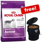Large Bags Royal Canin Size + Trixie Pet Food Bin Free! - Medium Junior (15 kg)