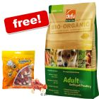 12.5 kg Defu Organic + 200 g Cookie's Pollock Sticks Free! - Adult (12.5 kg)