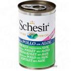 Schesir Kitten in Jelly 6 x 140 g - Tuna with Aloe