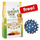 12kg Hill's Nature's Best + Trixie Coloured Spiky Ball Free! - Puppy Mini / Medium