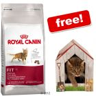 Large Bags Royal Canin Feline + Garden House Den Free! - Sterilised 12+ (2 x 4 kg)