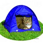 Kitty Camp Cat Tent - 43.5 x 43.5 x 40 cm (L x W x H) - Cat Supplies