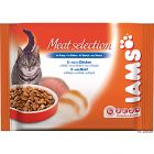 Iams Selection Trial Packs 4 x 100g - Adult Fish Selection in Jelly