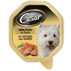 Cesar in Sauce Savings Pack 24 x 150 g - Poultry & Vegetables