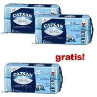 2 + 1 gratis! - 3 x 2 Catsan Smart Pack - - 3 x 2 Packs